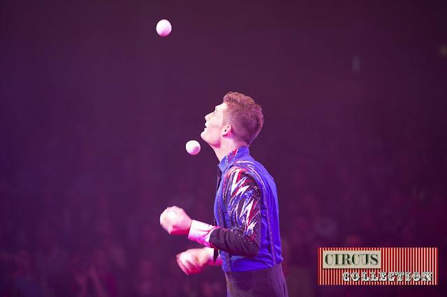 Spectacle jongleur Michael Ferreri