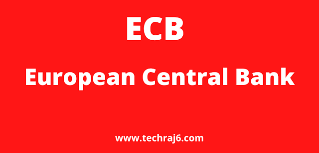 ECB full form, What is the full form of ECB