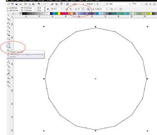 Ornamen Islami 3D Polygon