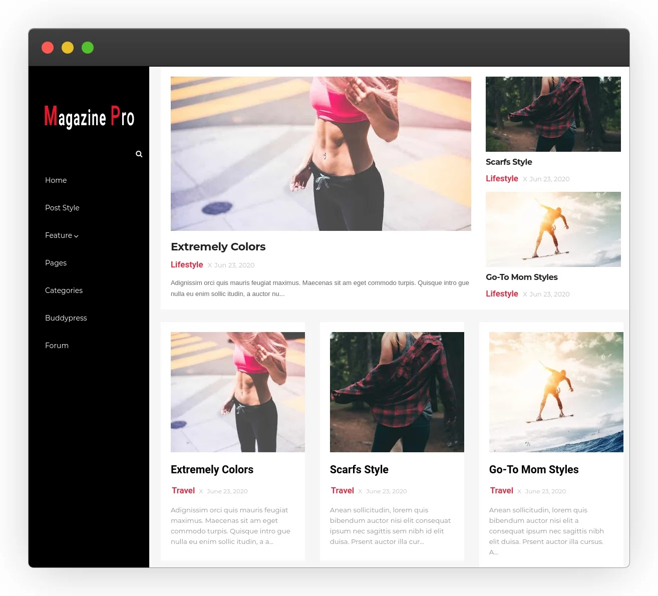 Magazine Pro - High-Quality Professional Blogger Template 2020