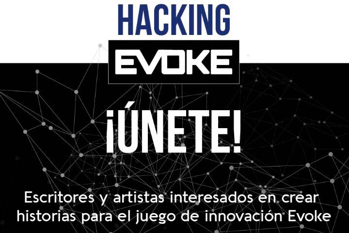 RETO para escritores e ilustradores: Hacking Evoke, nuevos contenidos para un juego social