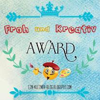 Mein Kreativ Award vom Kleinen Blog