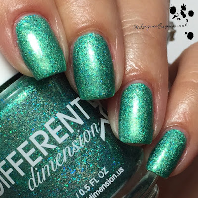 Nail polish swatch of Space TIme by DIFFERENT dimension
