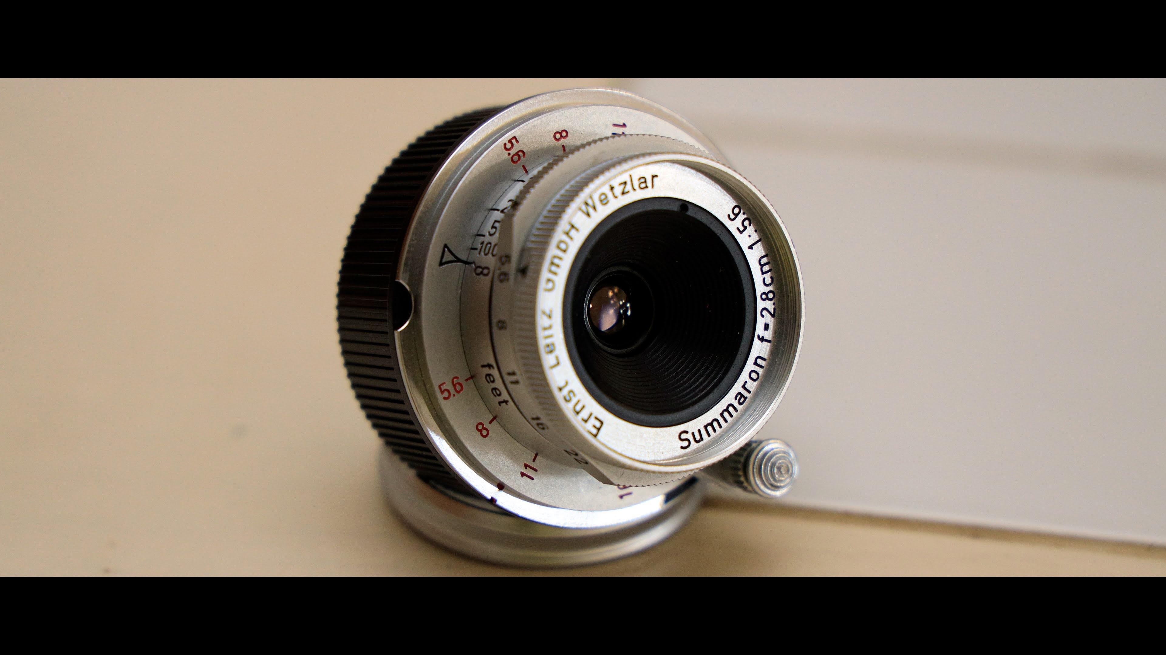 赤ズマロン Summaron F2/28mm