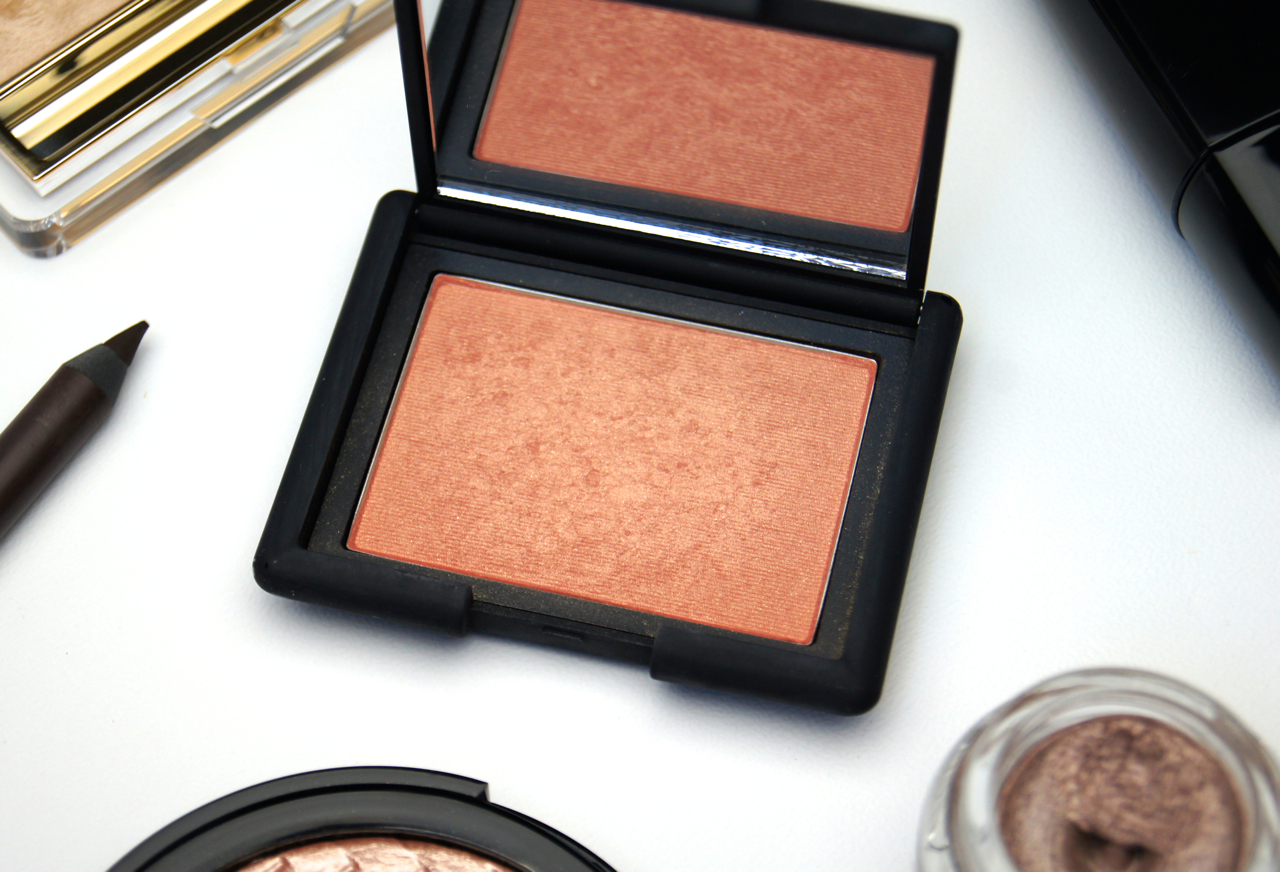 nars luster powder blush review
