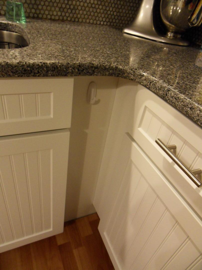 Kitchen Towel Hook Door