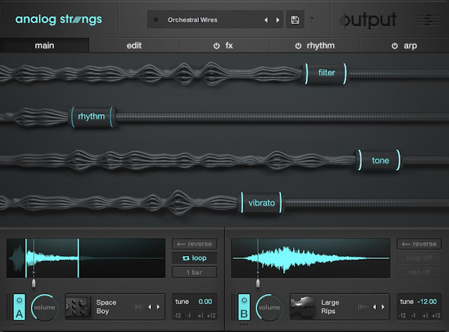 Interface Output - Analog Strings v1.0.1 + Expansions (KONTAKT)