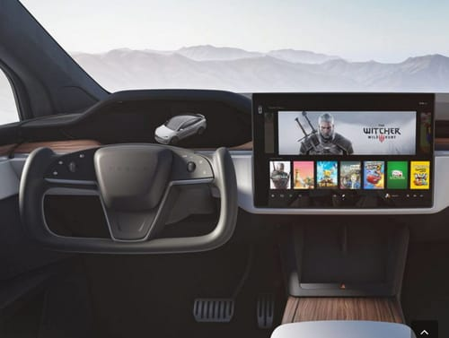 Tesla cars have two RDNA graphics processing units