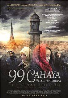Eropa tidak hanya mengajarkan mereka perihal hayat ilmu pengetahuan Download Film 99 Cahaya di Langit Eropa: the Final Edition (2014) WEB-DL Full Movie