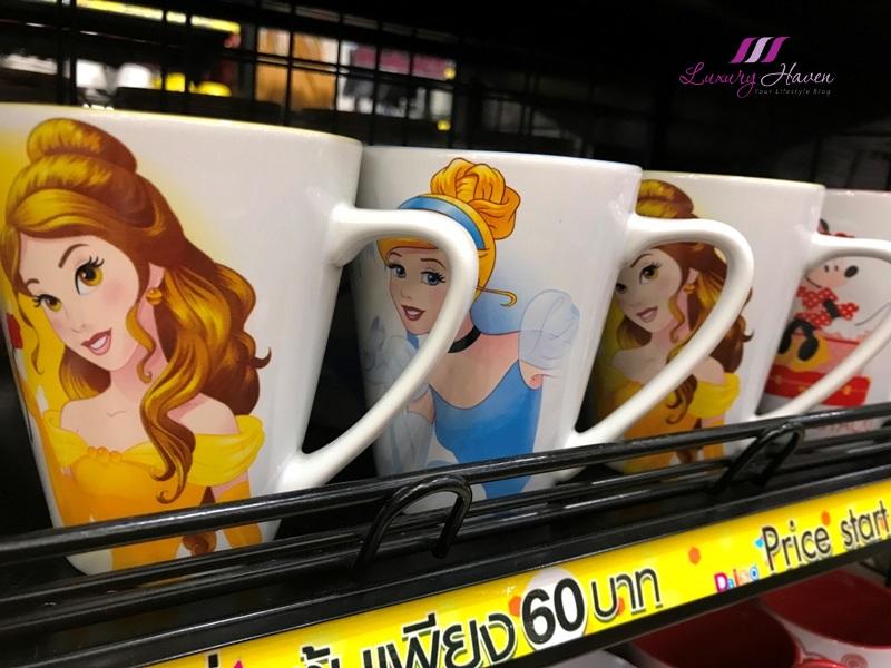 bangkok gateway ekamai daiso disney porcelain mugs