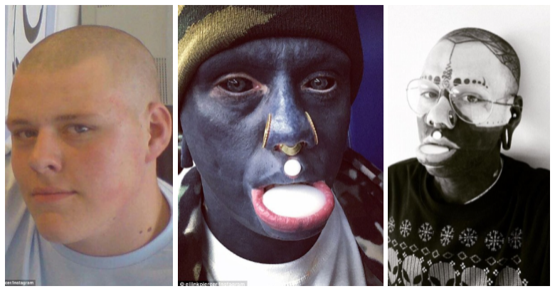 Meet The English Man Who Decides To Tattoo Himself Black