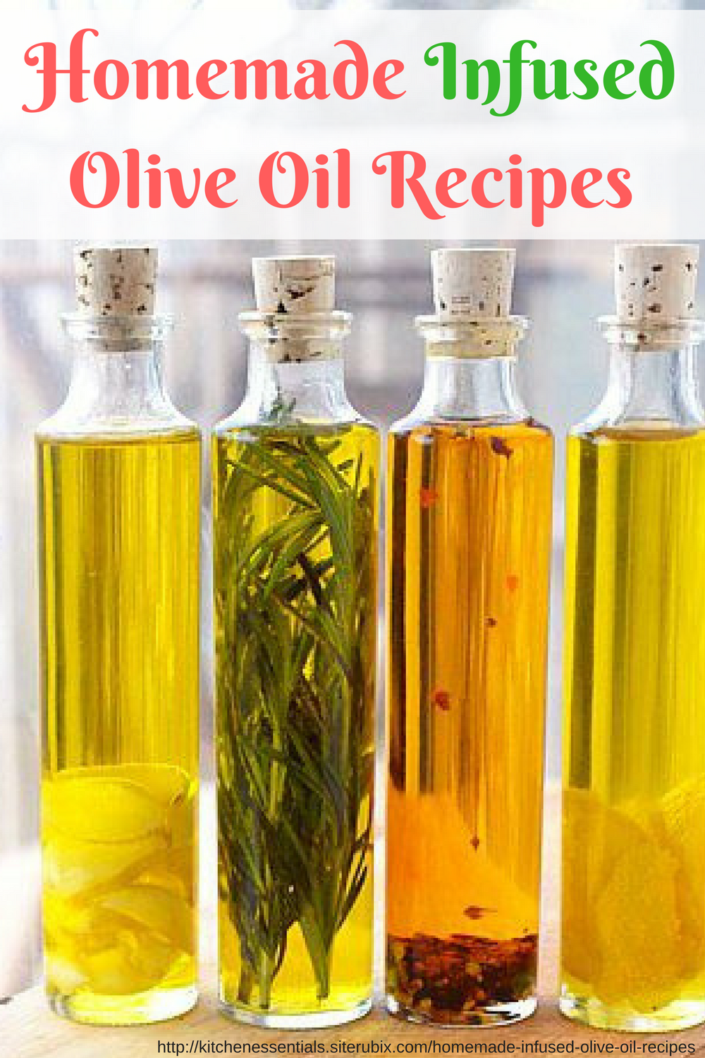 9 Homemade Infused Olive Oil Recipes For Your Glass Olive ...