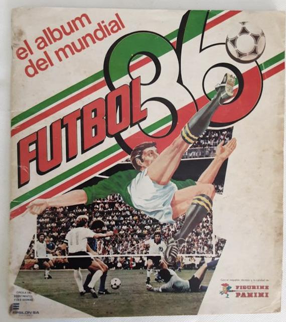 Album Panini Mexico 86 versione colombiana