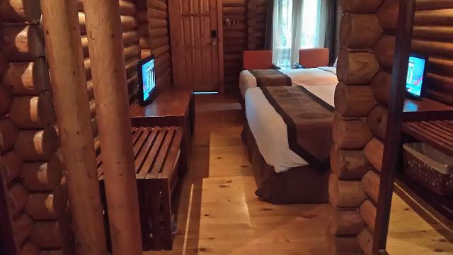 Binaan daripada blok-blok kayu