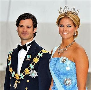 Η Πριγκίπισσα Μαντλέν και ο αδελφός της, Πρίγκιπας Κάρολος Φίλιππος της Σουηδίας