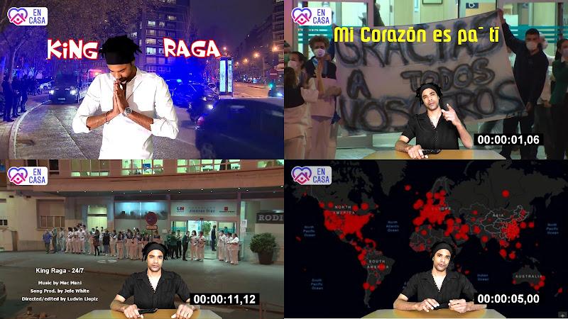King Raga - ¨24-7¨ - Videoclip - Director: Ludvin LLopiz. Portal Del Vídeo Clip Cubano