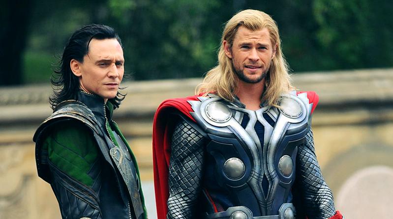 Thor e Loki Quanto mais alto o voo maior a queda!