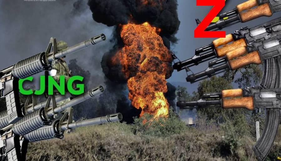 Así inició la guerra que libran Los Zetas y el CJNG en el Triángulo Rojo