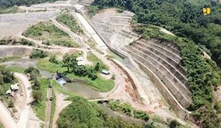 Pengisian Awal Juli 2021, Bendungan Ladongi Siap Penuhi Kebutuhan Irigasi di Kolaka Timur