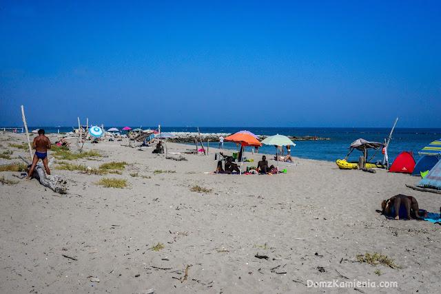 plaża w Lido di Dante