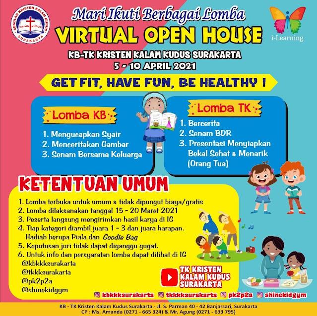 Ikuti Berbagai Lomba di Virtual Open House 2021