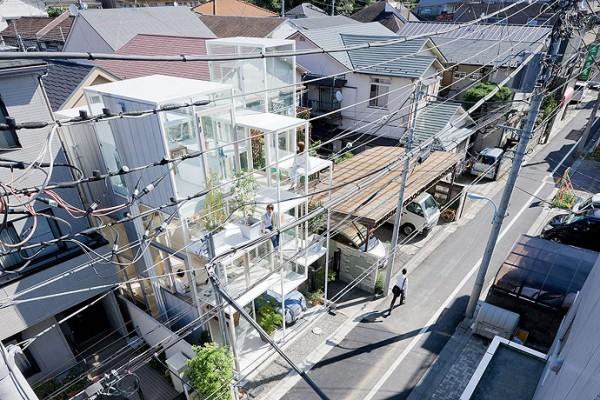 modern house transparent house design-1