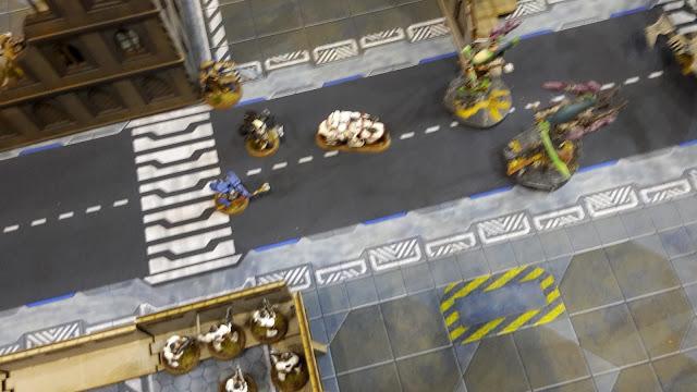Beachhead Brawl Battle Report: Game 4- White Scars vs Ynnari/Harlequins