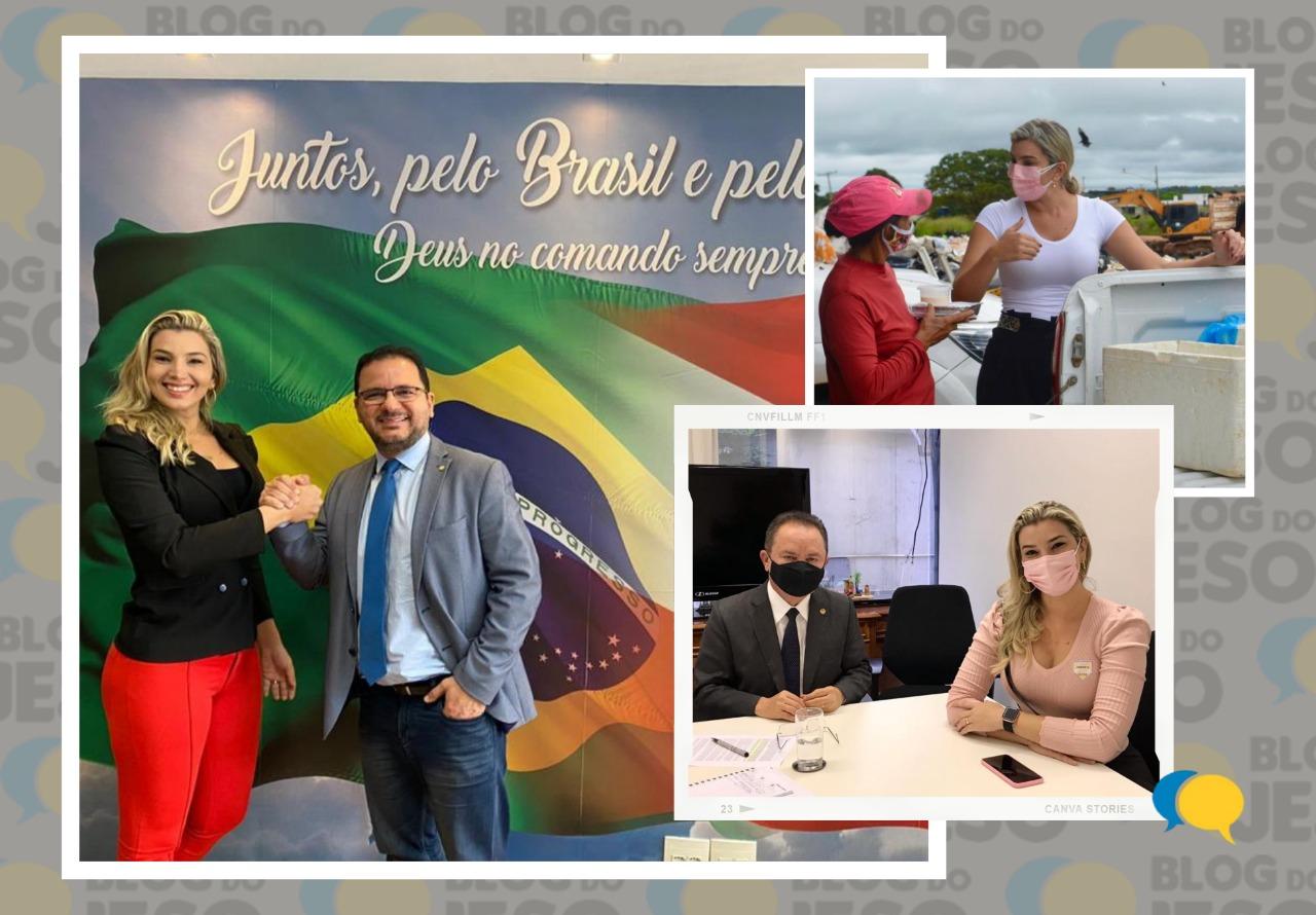 Parlamentar do PV vai à Brasília e firma parcerias com lideranças do Congresso