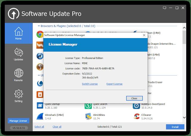 glarysoft software update pro latest