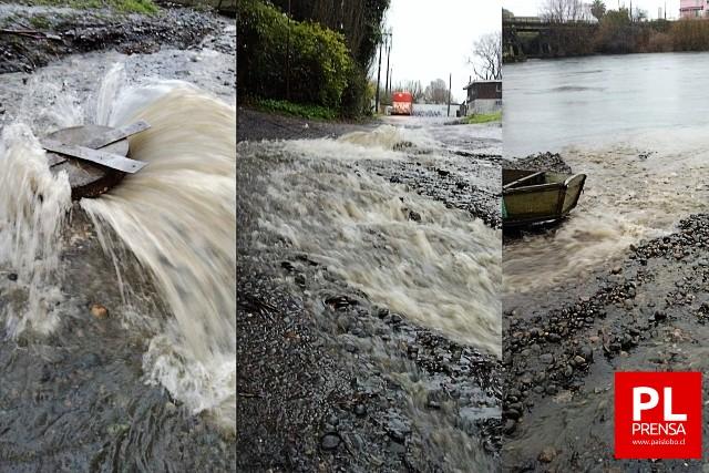 Contaminación en el río Rahue
