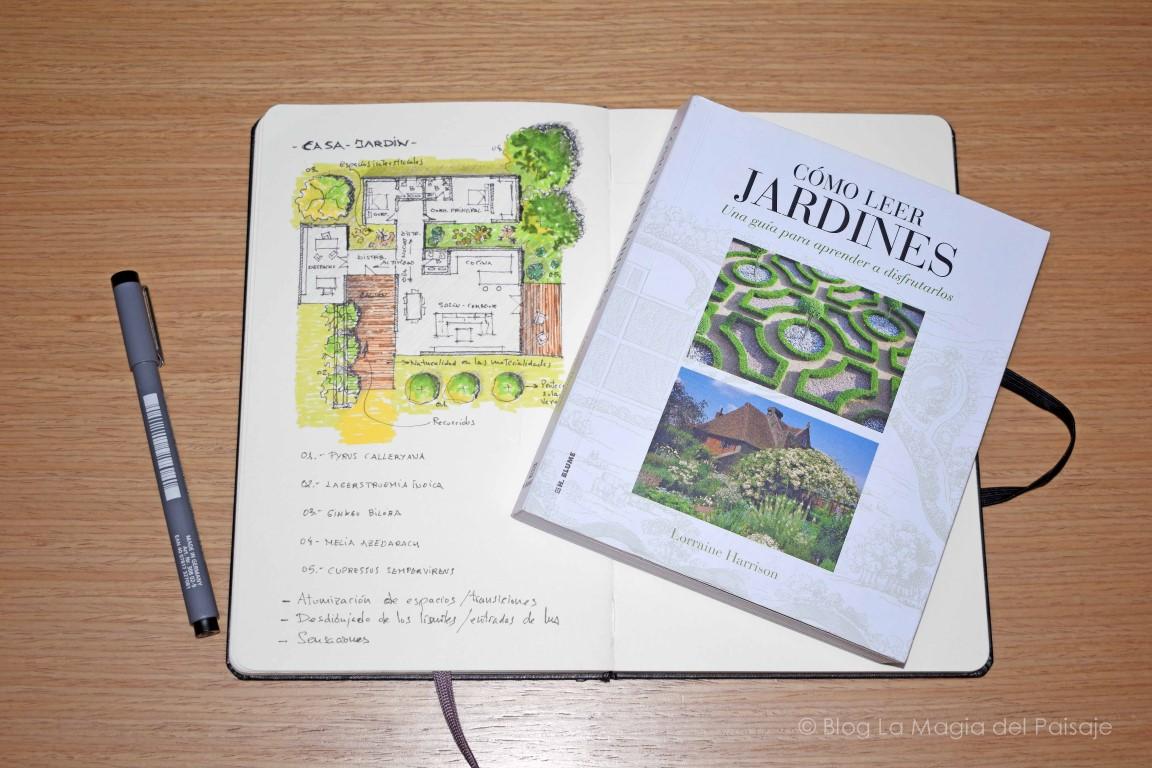 Libros de paisajismo, libros de jardines, libros diseño jardines, libros recomendados paisajistas, libros para arquitectos