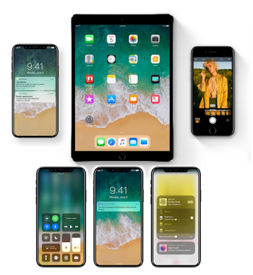 Apple iPhone 8 iOS 11