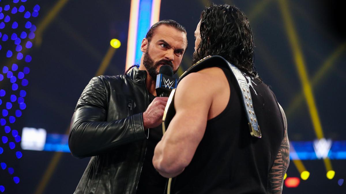 Roman Reigns e Drew McIntyre ficam cara a cara pela última vez antes do WWE Survivor Series