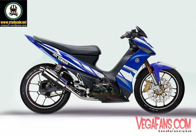 Modifikasi Vega ZR ala motoGP Keren Mirip