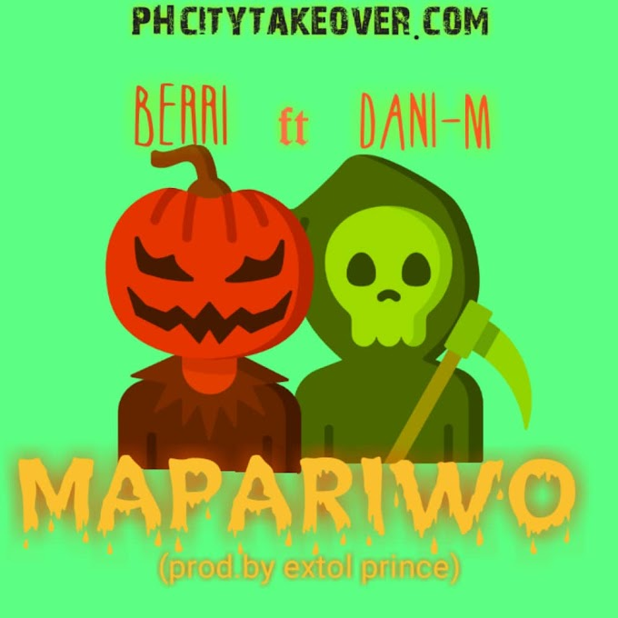 AUDIO: BERRI ft DANI -M __  MAPARIWO(Prod by Extol Prince)