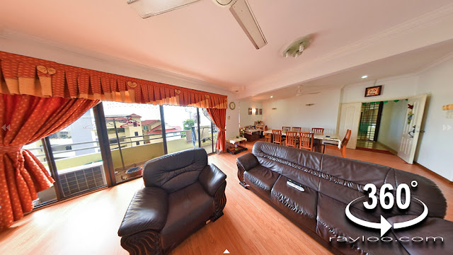Pearl View Condo In Tanjung Bungah Hillside Seaview Renovated Unit 2 Car Park Unit For Sale