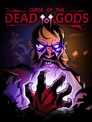 Capa do Curse of the Dead Gods
