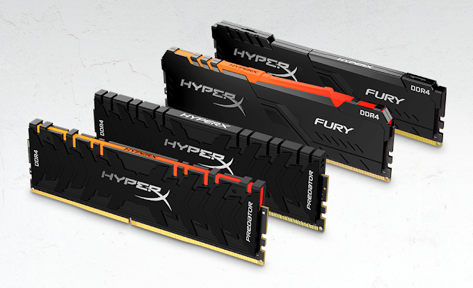 HyperX Expands Memory Lineup with HyperX Predator RGB and HyperX Fury RGB; Kits Now Up to 256GB