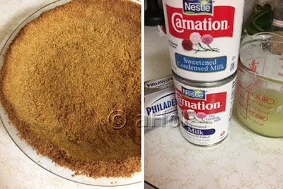 Graham Cracker Crust and Simple Ingredients