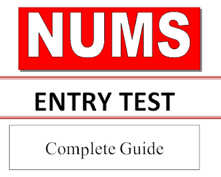 NUMS Entry test last date, syllabus, eligibility and fee structure