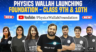 PhysicsWallah Foundation 9 & 10th - Complete PCMB and SST FREE