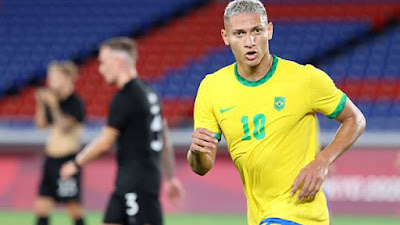 Sepak Bola Putra Olimpiade: Brasil Bekuk Jerman Dengan Skor 4-2