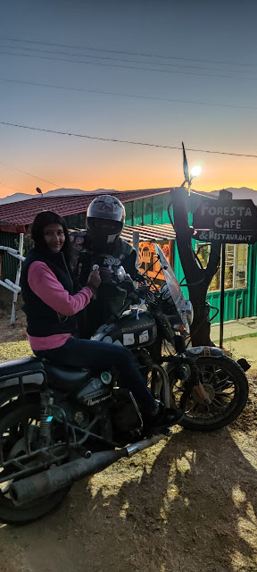 Ansh The Mystic Rider at Foresta Café