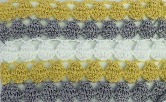3 - Crochet Imagen Puntada calada colorida a crochet y ganchillo por Majovel Crochet