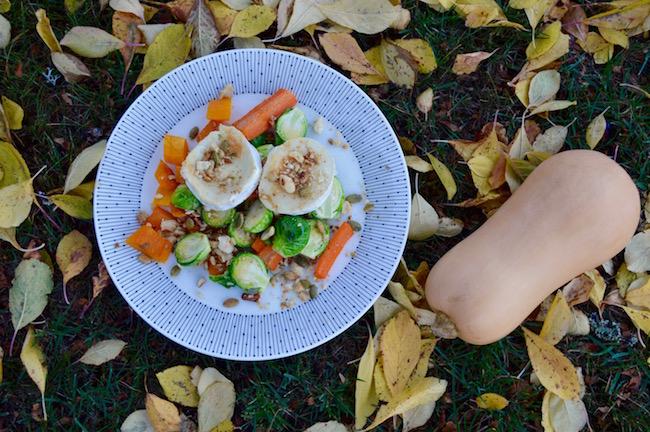 ruusukaali-myskikurpitsa-porkkanasalaatti