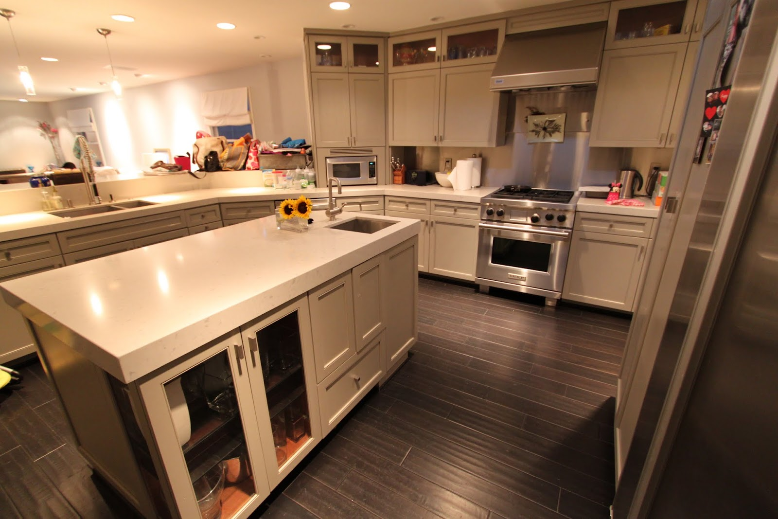 century kitchen cabinets wooden stools the barrett 39s kid friendly mid modern