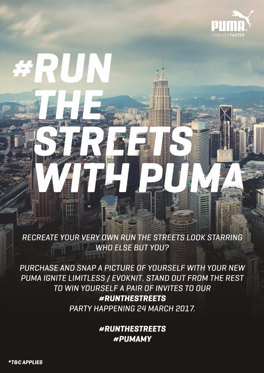 Penonton  Run The Streets With Puma 236a1dc227f5