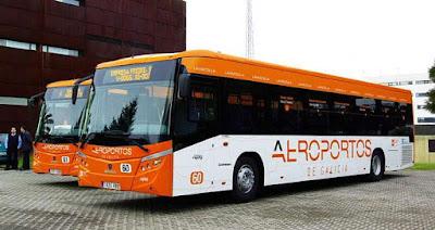 Autobus Aeropuerto de Santiago de Compostela