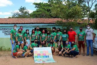 Grupo A Voz da Juventude realiza plantio de mudas nativas da Região do Maciço de Baturité