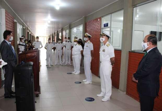 Com apoio da MRN, Marinha Mercante inaugura Sala de Aula Padrão